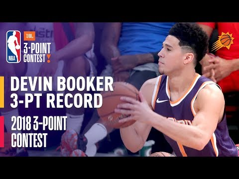 Devin Booker Sets 3-Point Contest ROUND RECORD with 28 Made Three's (VIDEO)