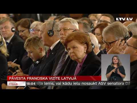 Pāvesta Franciska vizīte Latvijā