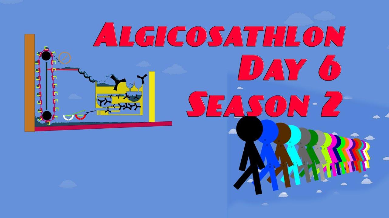 Algicosathlon Day 6 Season 2