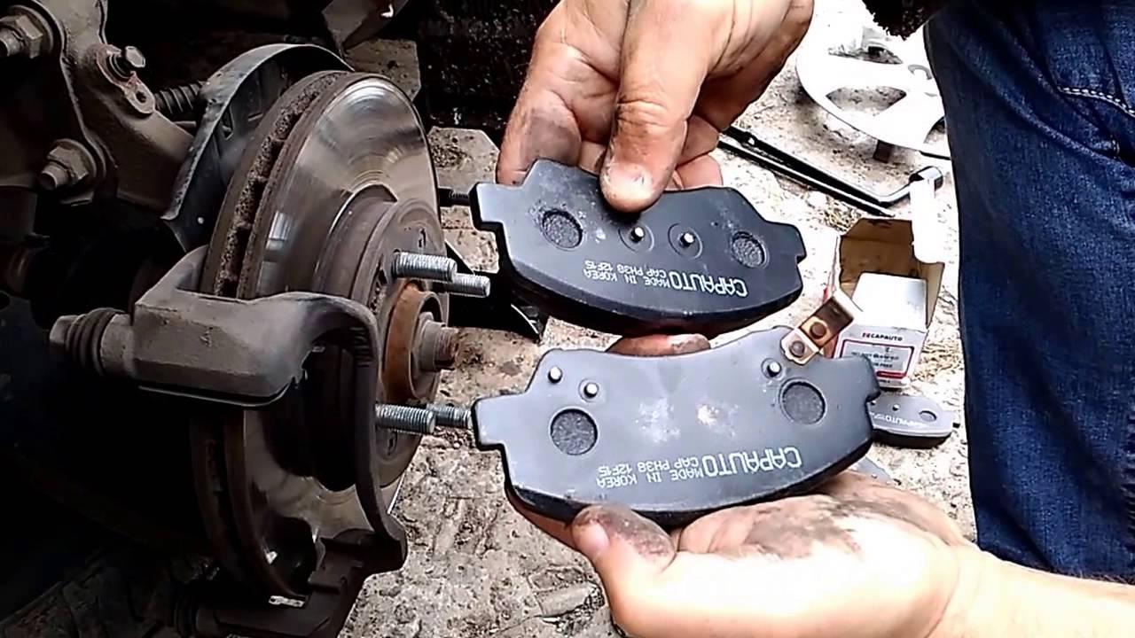 Испытываем тормозные колодки для автомобилей Renault Logan/Sandero .