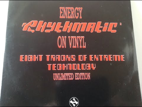 rhythmatic .energy on vinyl ep. eight tracks of extreme technology unlimited edition network records