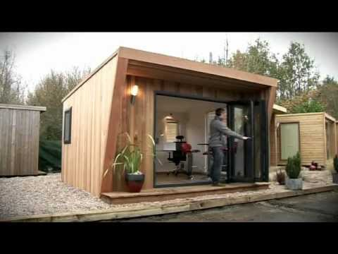 Garden offices garden rooms and garden studios by green for Garden office design