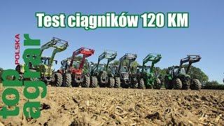 Test ciągników 120 KM. Nowe i wielozadaniowe - top agrar