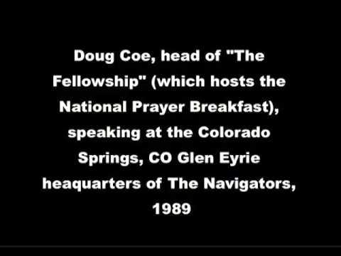 Doug Coe, 1989,  speaking at The Navigators, Glenn Eyrie, Colorado Springs, CO