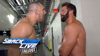 Is there friction between The Hype Bros?: SmackDown LIVE Fallout, Nov. 21, 2017