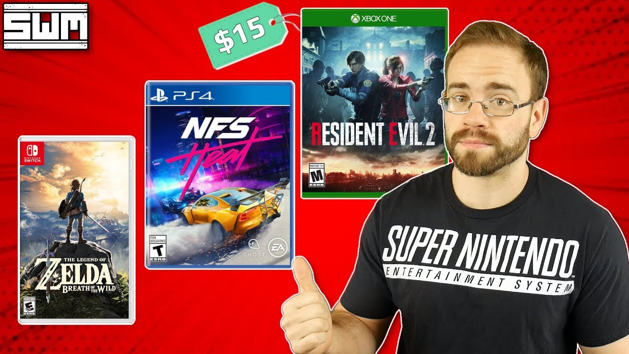 DO NOT Buy These Games Before Black Friday (Switch, PS4, Xbox One)