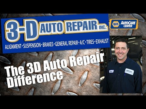 The 3D Auto Repair Difference