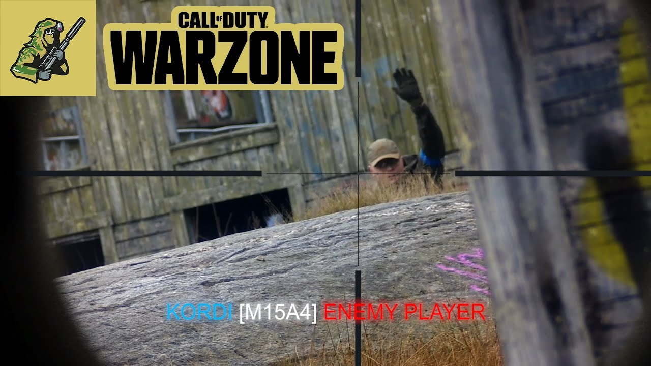 COD WARZONE IN REAL LIFE (AIRSOFT)