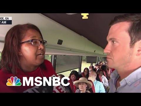 Freedom Riders Travel From South To D.C For Voting Rights Bill | MSNBC