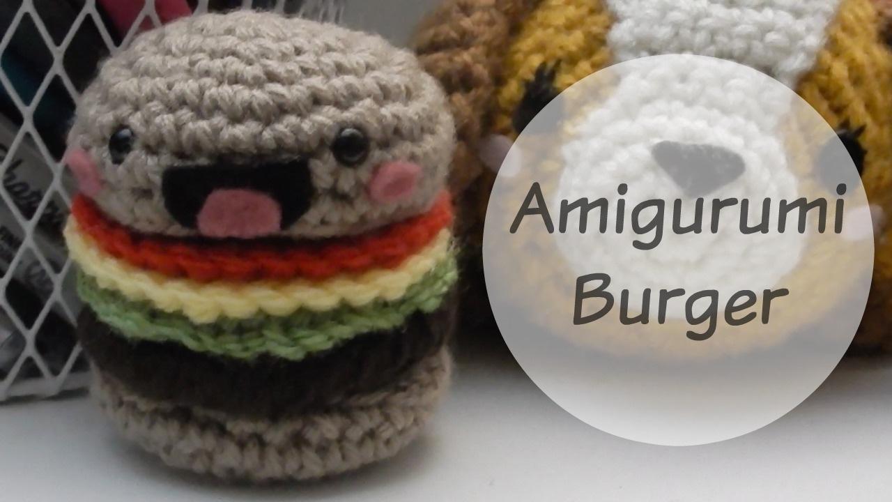 Hamburger Crochet Pattern, Burger Crochet Pattern, Hamburger ... | 720x1280