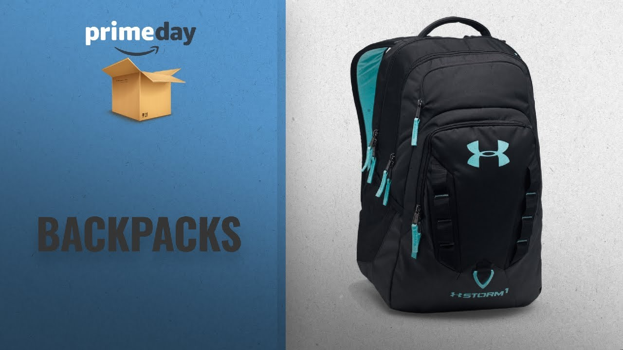 9b720a505c Save Big On Backpacks Prime Day 2018  Under Armour Storm Recruit Backpack