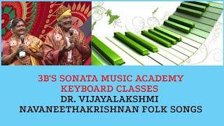 Folk song: Thottu kada orathile | Composed and sung by Dr. Vijayalakshmi navaneethakrishnan |