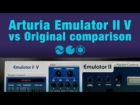 Arturia Emulator II V vs Original