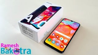 Samsung Galaxy A70 Unboxing and Full Review