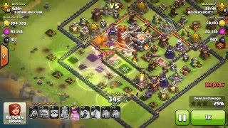 Clash of Clans - PRO DEFENSE Trophy Pushing in Titan League. Episode 1.
