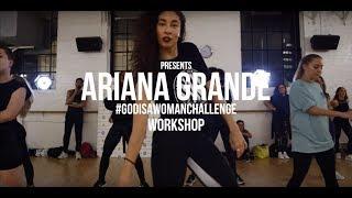 GOD IS A WOMAN DANCE CHALLENGE | ARIANA GRANDE