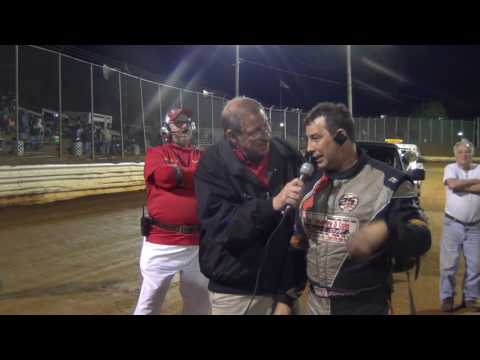 Lincoln Speedway 358 Sprint Car Victory Lane 5-07-16