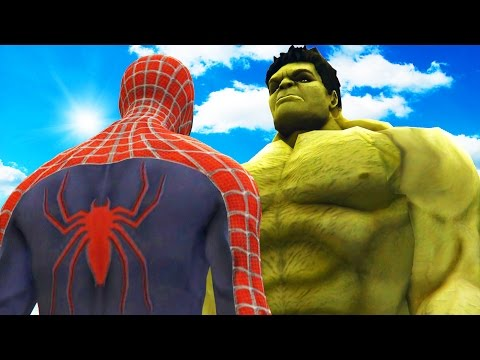 BIG HULK VS SPIDERMAN - THE INCREDIBLE...