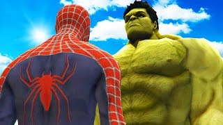 Big Hulk Vs Spiderman   The Incredible Hulk Vs Spider Man (2002)