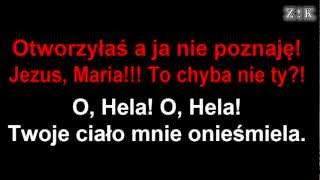 ♫♪♫♪ Paweł Kukiz & Piersi - O, Hela - Zajebiste karaoke