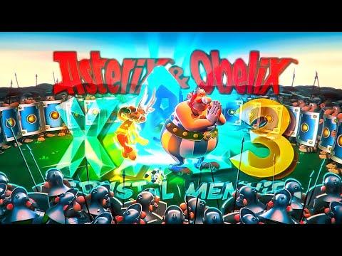 [Стрим] Asterix & Obelix XXL 3  - The Crystal Menhir прохождение игры| Суперген