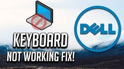 Fix Dell Keyboard Not Working Windows 10/8/7 - [3 Solutions 2020]