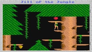 YEEEAAAAHHHH! | Let's Remember: Jill of the Jungle! | DOS PC Game |