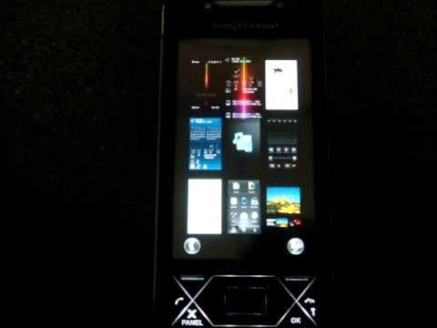 Sony Ericsson XPERIA X1 Panel Tour