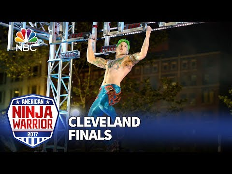 Jamie Rahn at the Cleveland City Finals - American Ninja Warrior 2017