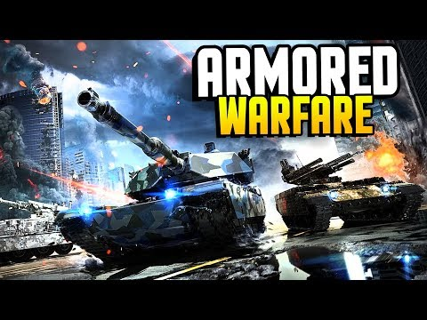 Armored Warfare - EPIC Armored Action In a MASSIVE Beast! (Armored Warfare Gameplay Ad)