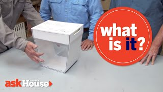 What Is It? | Clear Plastic Bin with Cups - This Old House