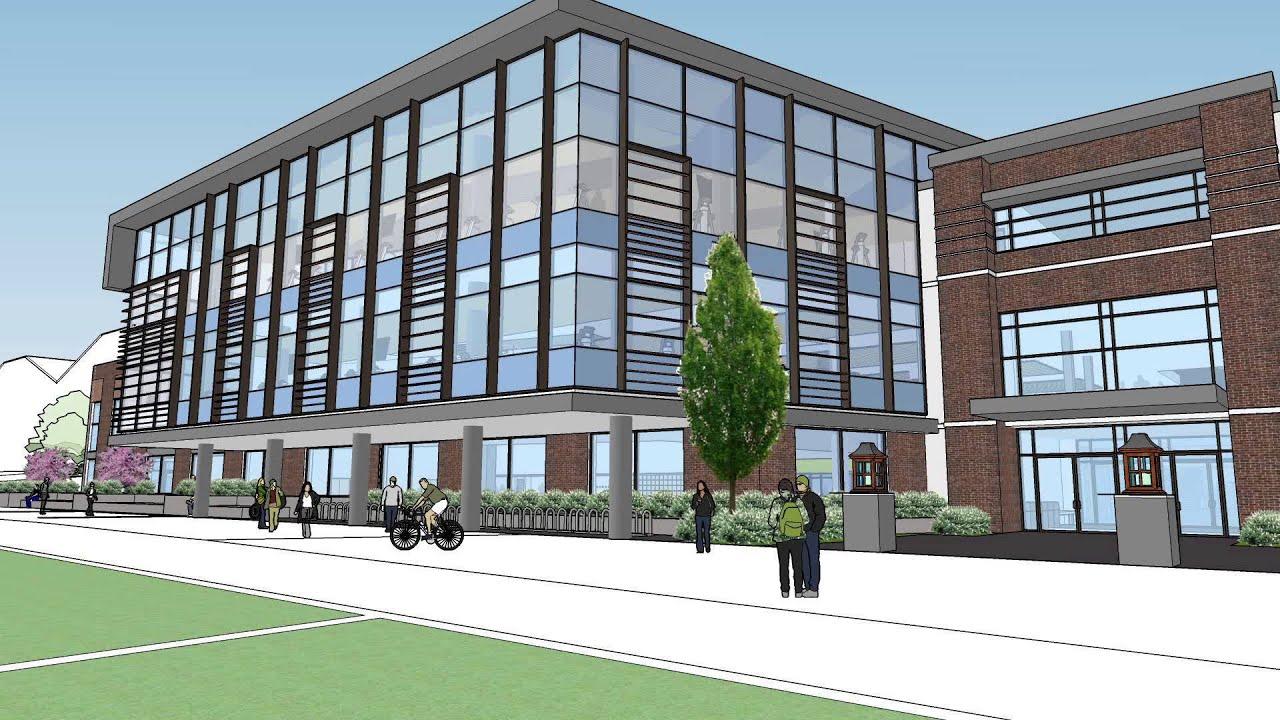 University of Oregon Student Recreation Center Expansion - YouTube