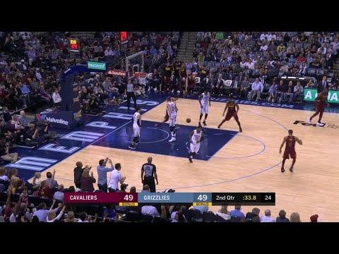 2nd Quarter, One Box Video: Memphis Grizzlies vs. Cleveland Cavaliers