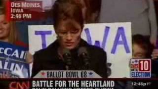 Palin Bizarre Rant Warns of Communist Nightmare State