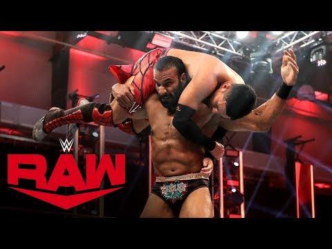 Akira Tozawa vs. Jinder Mahal: Raw, April 27, 2020