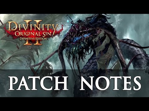 Divinity Original Sin 2 Definitive Edition Balancing Patch Notes