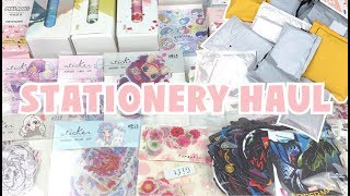 HUGE STATIONERY HAUL! Washi Tape, Stickers + More! | Aliexpress ♡
