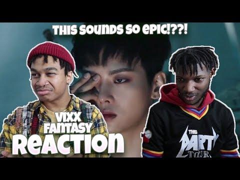 빅스(VIXX) - Fantasy Official M/V - REACTION | WHAT ARE THESE GUYS UP TO?!