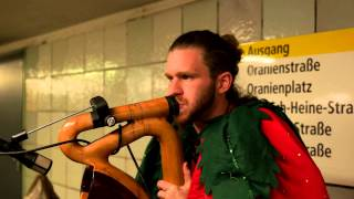 """Didgeridoo Moritzplatz"" \ Strawberry Man (SaxoDidge) Full-HD"