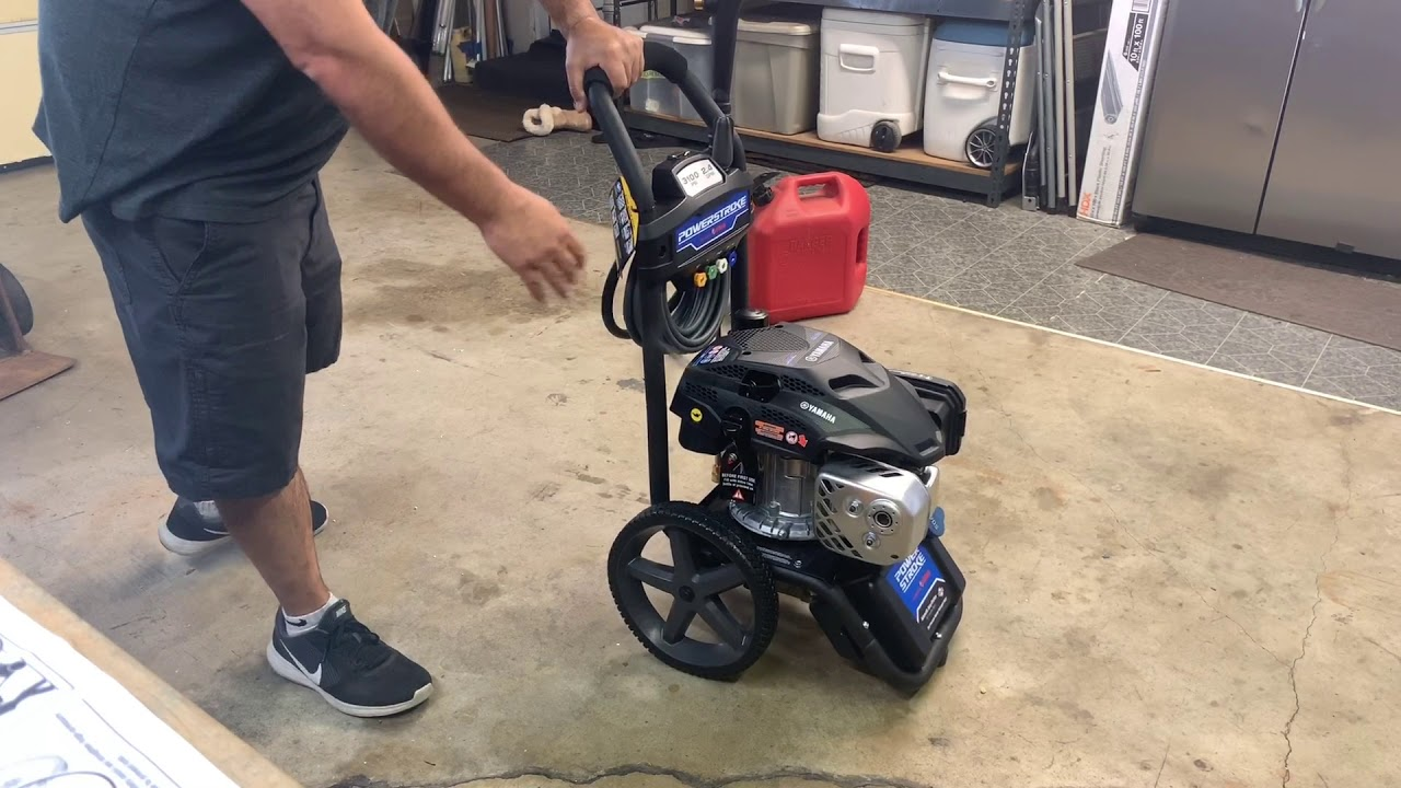 Powerstroke 3100PSI Pressure Washer - Assembly and Review