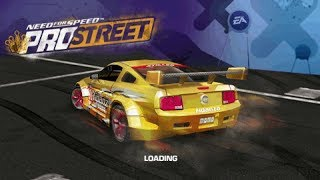 Need for Speed: ProStreet PSP Gameplay HD (PPSSPP)