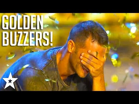 ALL GOLDEN BUZZERS on Italy's Got Talent 2017! | Got Talent Global