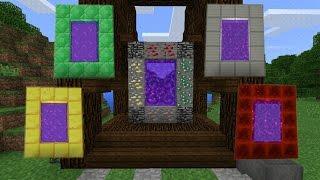 ĐÃ CÓ THÊM 4 CÁNH CỔNG MỚI TRONG MINECRAFT POCKET EDITION | Minecraft PE 1.1.0.9