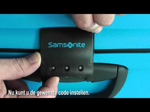 How To Set A Samsonite Travel Lock Tsa002 Doovi
