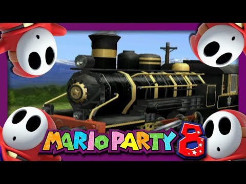 LE TRAIN DES MASKASS ! | MARIO PARTY 8 NINTENDO FR