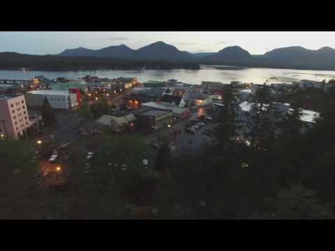 Beautiful downtown Ketchikan,AK
