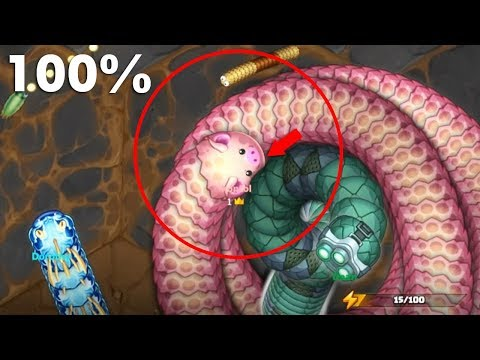 Littlebigsnake.io New io Gameplay Similar Wormax.io - Bad Little Big Snake Best Hack Troll Moments