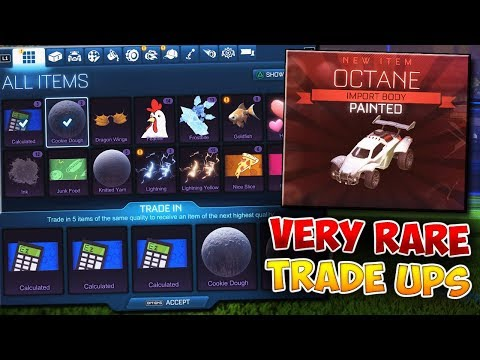 We Finally Did It...  By Far My BEST Very Rare Trade Up Video Of ALL TIME In Rocket League