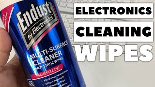 How to Clean Your Electronics with Endust Electronics Wipes