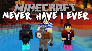 MINECRAFT NEVER HAVE I EVER WITH GRASER & WILL